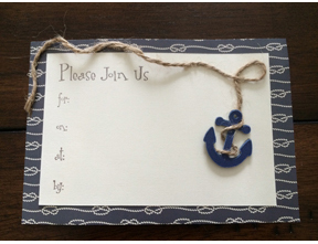 Nautical Summer Party Invitations