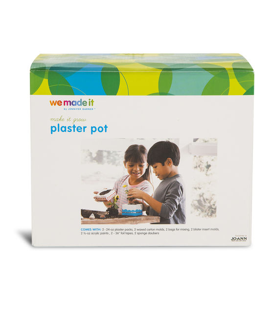 We Made It by Jennifer Garner™ Plaster Pot Kit